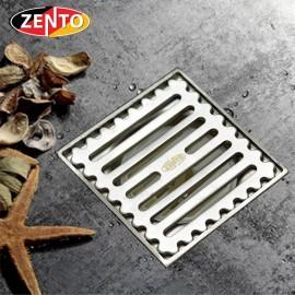 Phễu thoát sàn chống mùi inox Zento TS130-L (98x98mm)